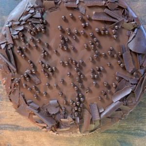 Tarta de chocolate negro Belga