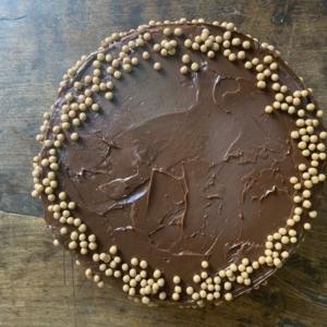 Brownie de Santiago